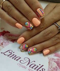 Gel Nail Designs You Should Try Out – Your Beautiful Nails Diy Nails, Cute Nails, Acrylic Nail Designs, Nail Art Designs, Gel Nagel Design, Luxury Nails, Summer Acrylic Nails, Pretty Nail Art, Fabulous Nails