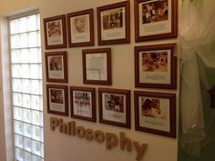 Philosophy statement displayed for families. Maybe something not as big for the door Clean Classroom, Reggio Classroom, Classroom Decor, Early Childhood Centre, Early Childhood Education, Emergent Curriculum, Teaching Philosophy, Visible Learning, Home Daycare