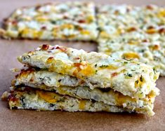 Grilled Cheese Sandwich on Crispy Cauliflower Bread | Only 138 Calories | For MORE RECIPES, Nutrition & Fitness Tips please SIGN UP for our FREE NEWSLETTER www.NutritionTwins.com