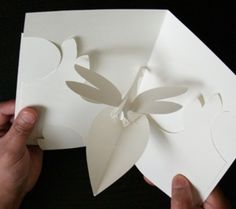 Kirigami Dragonfly Pop-up Card Make Yourself by popupcardmaking