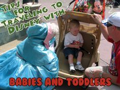 Top 10 Tips For Traveling with Babies and Toddlers to Walt Disney World! Pin now for your next Disney vacation.