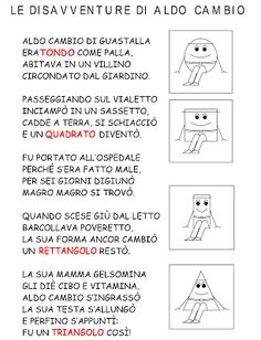 Learning Italian, Aldo, Elementary Schools, Preschool, 1, Classroom, Teaching, Education, Math