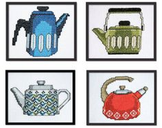 Kitchen Gadgets Motifs Cross Stitch Pattern by tinymodernist