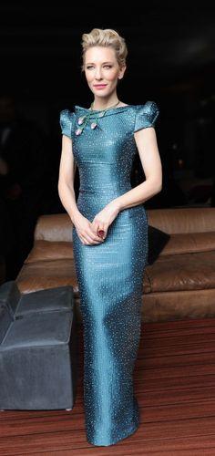 ed877da2cf2c9c Cate Blanchett in Armani Vestidos Largos Cortos, Vestidos De Colores,  Vestidos Alta Costura,