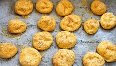 Bignè di Mais al Formaggio - Pasta Choux con Farina di Mais