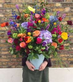 World's most cheerful bouquet.