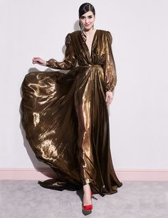 glam by ManuriClothing 70s Glam, Sheer Dress, Glamour, Gowns, 1970s, Bronze, Dresses, Fall, Fashion