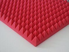 Akustikschaumstoff Pyramiden 1 x ca. 49x49x5cm, Rot Schau... http://www.amazon.de/dp/B008HPPJZG/ref=cm_sw_r_pi_dp_-x2oxb1BETGCC