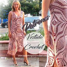 doily crochet pattern + dress