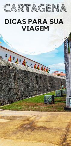 Cartagena das Índias, na Colômbia: Dicas práticas para a sua viagem de férias. Descubra quando ir, o que fazer, quais são as principais atrações e onde é melhor se hospedar! Latin America, South America, Us Travel, Travel Tips, Asia, Mystery Books, Paradise, Sidewalk, Wanderlust