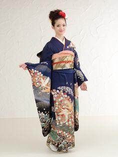 The Kimono Lady