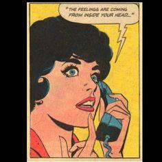 Puzzling...#vintagecomics #funnycomics #weirdcomics #feelings by somevelvetmorningx