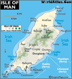 map of Isle of Man