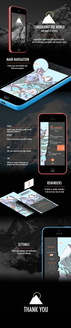 Iphone App - Climbing Everest on App Design Served