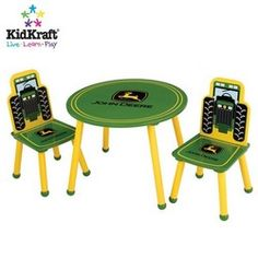 John Deere Kid furniture/HAVE TO HAVE THIS!!!!!!!!