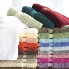 "There's a color to match any bathroom! These towels were ranked ""Best in class"" by the Wall Street Journal."