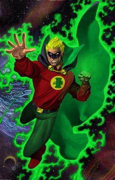 Alan Scott Green Lantern Color by statman71.deviantart.com on @deviantART