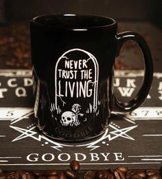 "1,462 Likes, 11 Comments - Blackcraft Cult (@blackcraftcult) on Instagram: ""Coffee mugs back in stock! ☕️www.blackcraftcult.com #blackcraftcult"""