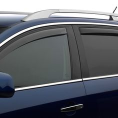 WeatherTech 82157 Series Dark Smoke Front/Rear Side Window Deflector Set - Side Window Deflectors WeatherTech(R) Side Window Deflectors, offer fresh air enjoyment with an original equipment look, installing within the window channel. They are crafted from the finest 3mm acrylic material available. Installation is quick and easy, with no exterior tape needed. WeatherTech(R) Side Window Deflectors are precision-machined to perfectly fit your vehicle's window channel. These low profile window…