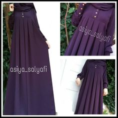 Pleated cilbab😍EN SOLD COLORS - Button snap fastener or zipper 🤐 made by request 🎀 Payment transferable 🎀 🎀 black navy blue green purple mink mink and 20 colors için For Information and Order 🎀 whatsap 05385161787 # islamitesettur Abaya Fashion, Muslim Fashion, Modest Fashion, Fashion Dresses, Hijab Evening Dress, Evening Dresses, Modele Hijab, Mode Abaya, Hijab Style