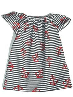 Baby girl dresses & toddler fancy dress party dresses, our unqiue designs for girls guarantee your little one will be the best dressed around! Baby Outfits, Cute Outfits For Kids, Baby Girl Dresses, Baby Dress, Nautical Dress, Nautical Baby, Nautical Fashion, Rockabilly Baby, Funky Baby Clothes
