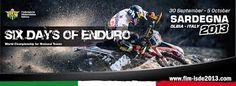 SIX DAYS OF ENDURO 2013 – OLBIA-TEMPIO – 30 SETTEMBRE- 5 OTTOBRE 2013