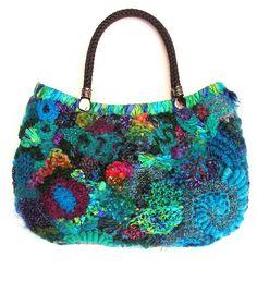 Scrumbled handbag