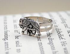 Elephant Ring by KellyStahley on Etsy