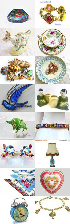 Bull In The China Shop! by elphiena . on Etsy--Pinned+with+TreasuryPin.com