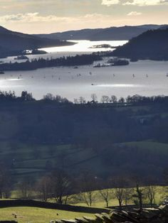 View over Lake Windermere from Wansfell Pike, Lake District, England.  (Photo: H. Travis)