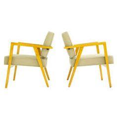 Pair of Franco Albini Lounges