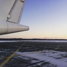 #November  #peace and #silence #morning #flight #destination #helsinki #joensuu #finland #airport #work #worktrip #workbitch