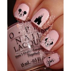 Mickey Minnie Mouse Nails - Google Search