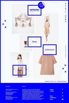 Vanharten by Elisabeth Enthoven, via Behance | See more about behance, product design and web design. http://www.annemarijevanharten.com/