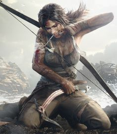 Tomb Raider Lara Croft Art Silk Canvas Poster Print inches New Game Wall Picture Home Room Tomb Raider Lara Croft, Tomb Raider 2012, Tomb Raider Game, Tomb Raider Cosplay, Medieval Combat, Tomb Raider Reboot, Character Inspiration, Character Art, Tom Raider