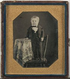The Metropolitan Museum of Art - Tom Thumb (Charles Sherwood Stratton) ca. 1848