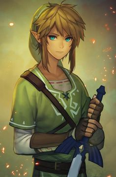 Link, The Legend of Zelda by mmimmzel