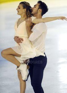 2015 European/World Ice Dance Champions: France's Gabriella Papadakis & Guillaume Cizeron