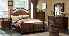 Sycamore 5 PC Bedroom Set by Furniture of America