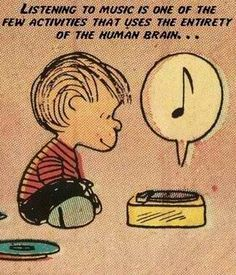 The Joy of Listening to music through a vinyl record being played on real record player!✌ .
