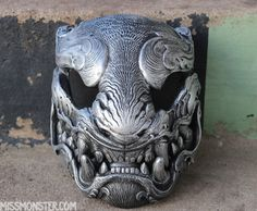 "ORNATE PANTHER- ""ANTIQUE SILVER"" MASK PRE-ORDER"
