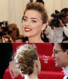 Make e cabelo no Baile do MET 2014
