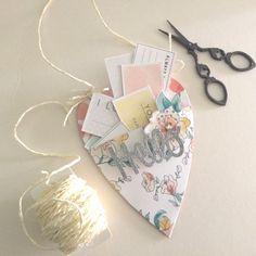 Sizzix Tutorial   Heart Pocket Door Hanger by Genevive Rulona