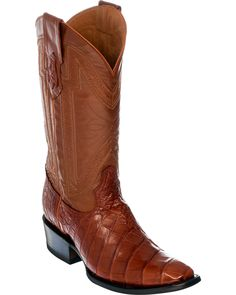 Made of genuine exotic alligator belly skin on vamp. Shaft is made of smooth calf leather. Classic Ferrini embroidery on shaft. Custom Cowboy Boots, Cowboy Boots Women, Cowgirl Boots, Western Boots, Riding Boots, Mens Outdoor Fashion, Cowboy Boots Square Toe, Alligator Boots, Timberland Style