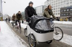 Please Bring This to America: Heated Bike Lanes  While we're still debating in the United States whether and where to build bike lanes at all, here comes yet another cycling innovation from Northern Europe to stoke your seething jealousy. Towns in the Netherlands are hoping to pilot-test heated bike lanes, or geothermal infrastructure at 20,000-40,000 euros a kilometer that would melt the snow and ice from your morning commute.