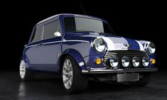 the old mini cooper by Menno Klunder | 3D | CGSociety