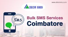 Now, we offer our services in #Coimbatore too. Wanna know about our packages? Go here: https://aikonsms.co.in/bulk-sms-provider-in-coimbatore