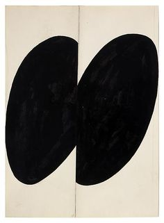Ellsworth Kelly Black Forms 1955 Ink, graphite and collage on paper 11 x 7 3/4 inches; 28 x 20 cm