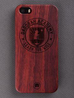Buy Dagobah Academy Engraved Wooden Smartphone Case Online for Bombay Trooper, Wooden Phone Case, Laser Engraving, Bottle Opener, Barware, Smartphone, Iphone Cases, Accessories, Iphone Case