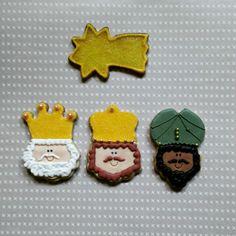 Galletas de Navidad. Los Reyes Magos!!